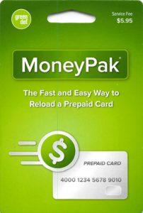 Green Dot Moneypak Card Money On Books Non Profit