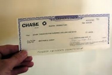 picture of chase check