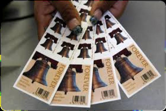 Unused Postage Stamps | Money on Books | Non-Profit